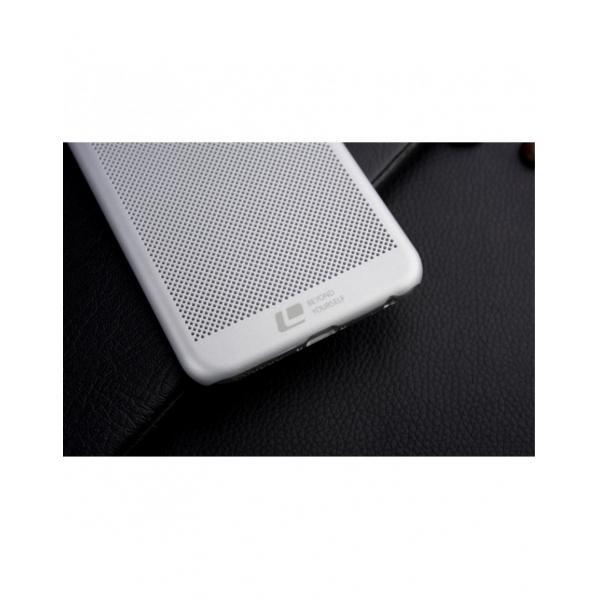 """Carcasa protectie spate din plastic mesh pentru Iphone 6 Plus 5.5"""" - gri 2"""