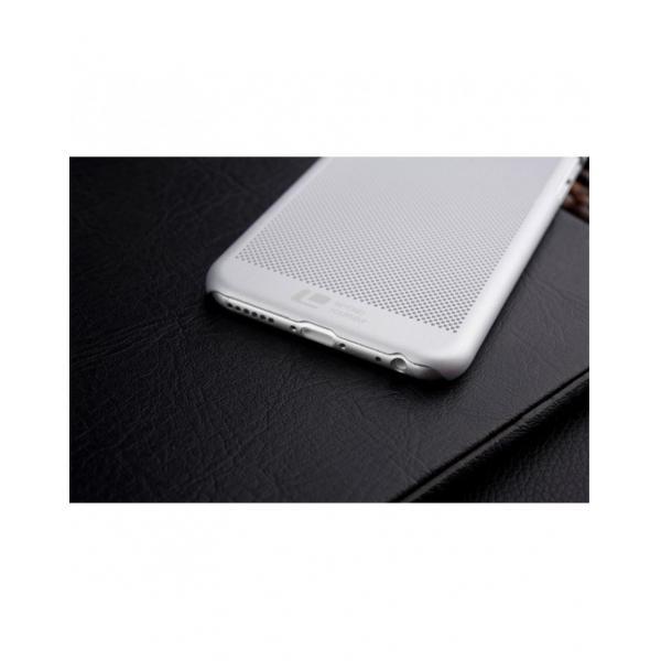 """Carcasa protectie spate din plastic mesh pentru Iphone 6 Plus 5.5"""" - gri 3"""