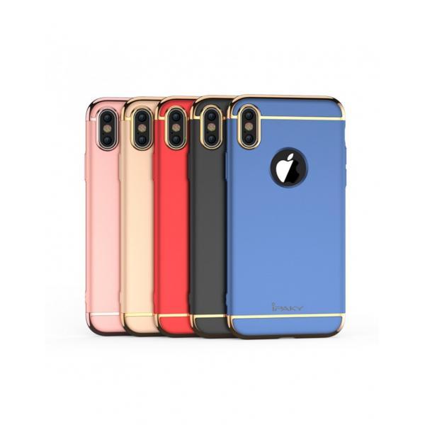 Carcasa protectie spate din plastic ipaky pentru iPhone X 5.8 inch - amiplus.ro 1