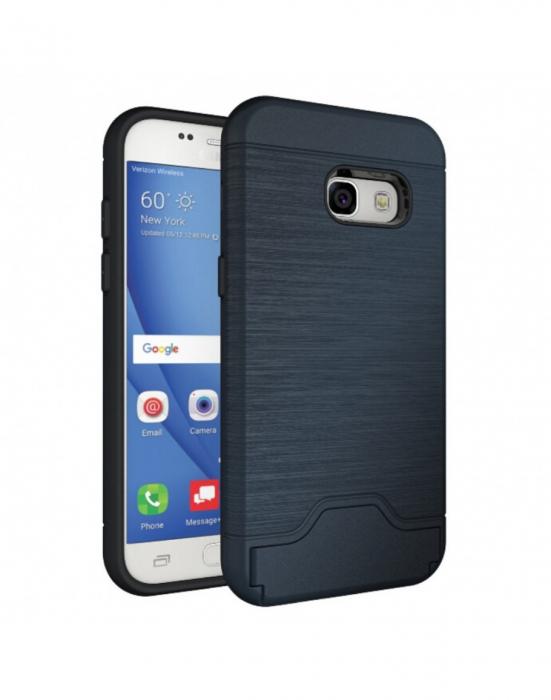 Carcasa protectie spate din plastic si gel TPU pentru Samsung Galaxy A3 (2017) 1