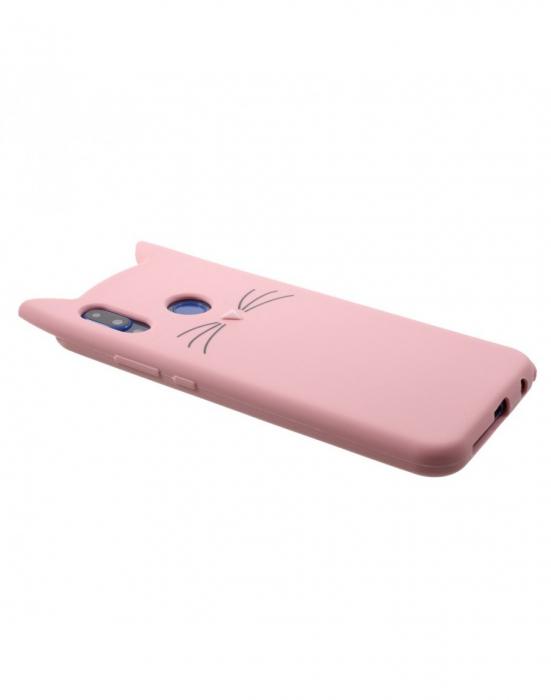Carcasa protectie spate pisica pentru Huawei P20 Lite 2