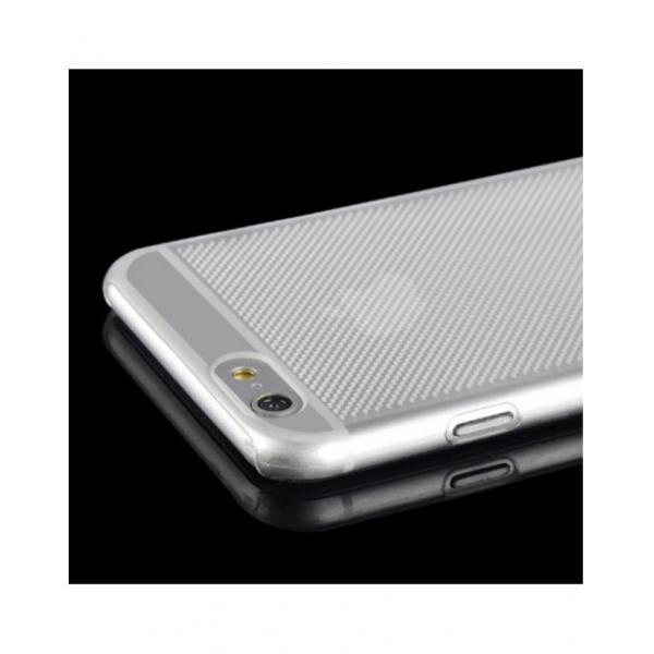 "Carcasa protectie spate tip mesh din gel TPU pentru Iphone 6 Plus 5.5"" 2"
