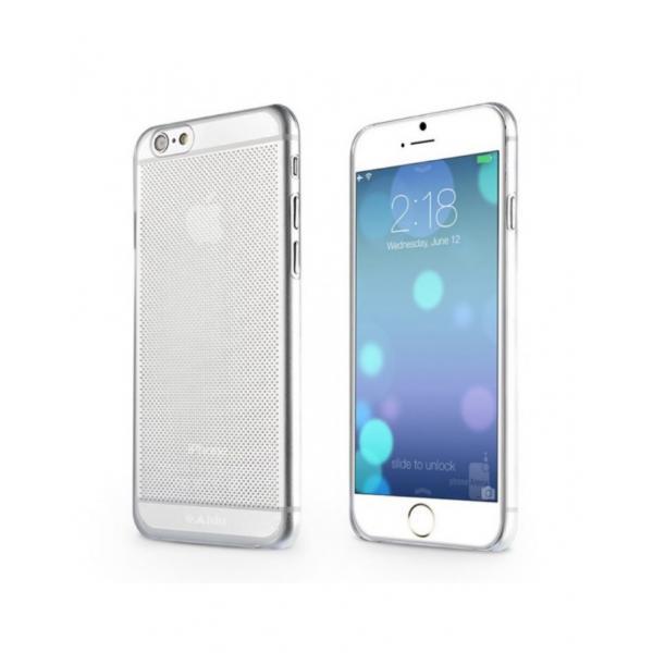 "Carcasa protectie spate tip mesh din gel TPU pentru Iphone 6 Plus 5.5"" 0"