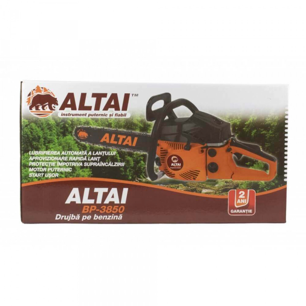 Drujba benzina ALTAI BP3850, 4.0CP, 52CC, Lant+Lama 40cm 2
