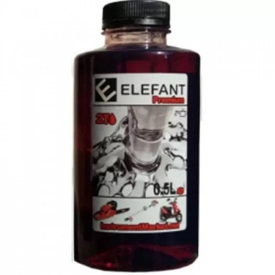 Ulei amestec 2T Elefant, flacon 1 L 0