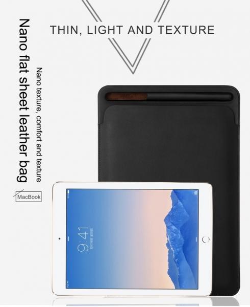 Husa plic cu slot pentru stilou pentru iPad Pro 12.9 inch (2nd generation) 3