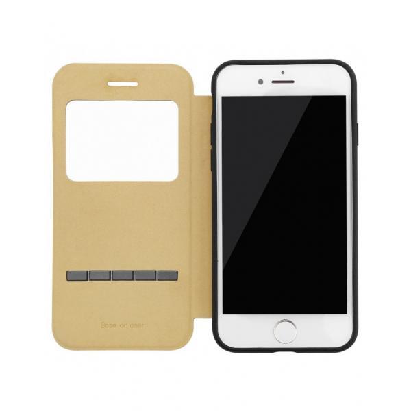 """Husa de protectie """"Smart View"""" BASEUS pentru Iphone 7 2"""