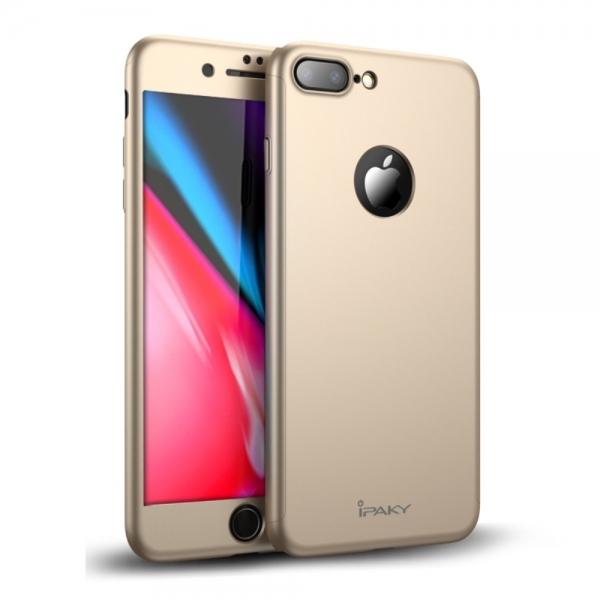 Husa protectie completa IPAKY pentru iPhone 8 Plus 0