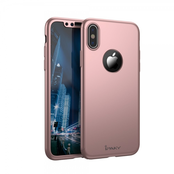 Husa protectie completa IPAKY pentru  iPhone X/10 0
