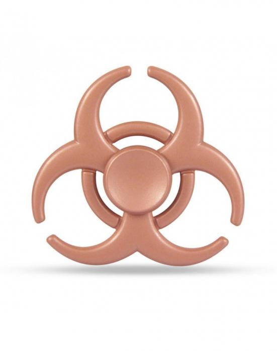"""Jucarie antistres Fidget Spinner cu model """"Toxic"""" 0"""