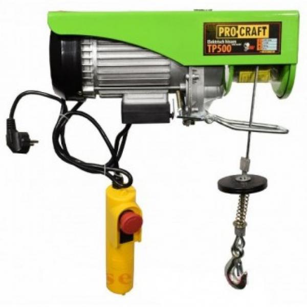 Macara electrica Procraft TP-500 250/500 Kg 0