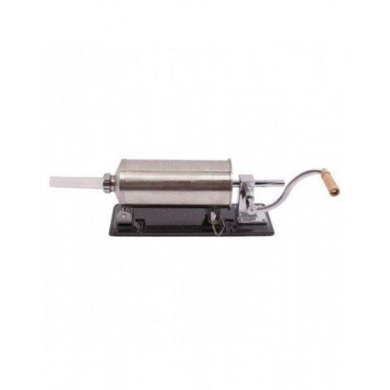 Masina manuala de facut carnati orizontala, inox , 4kg, 4 palnii incluse 1