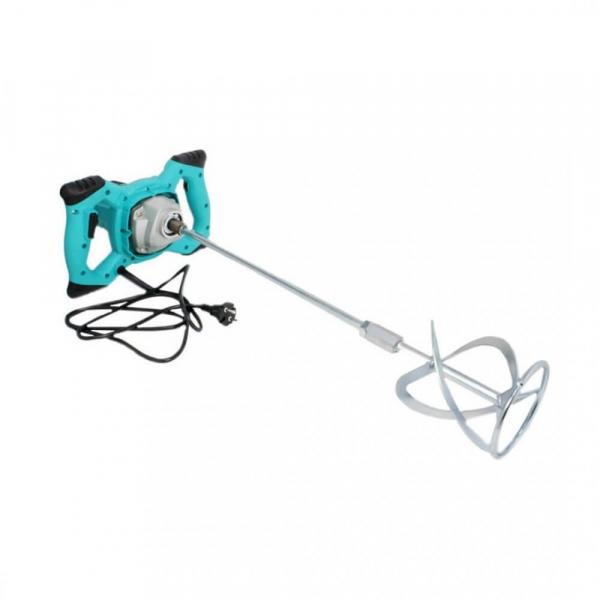 Mixer amestecator electric de mortar, adezivi si vopsea, DeToolz, 1200 W, 700 RPM 2