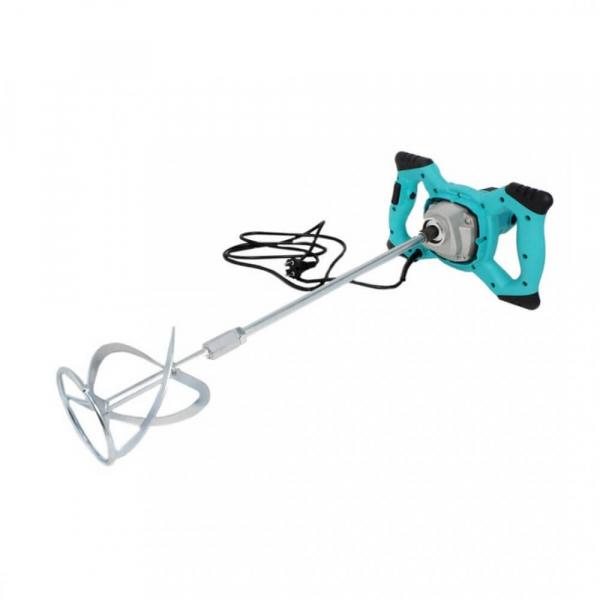 Mixer amestecator electric de mortar, adezivi si vopsea, DeToolz, 1200 W, 700 RPM 3
