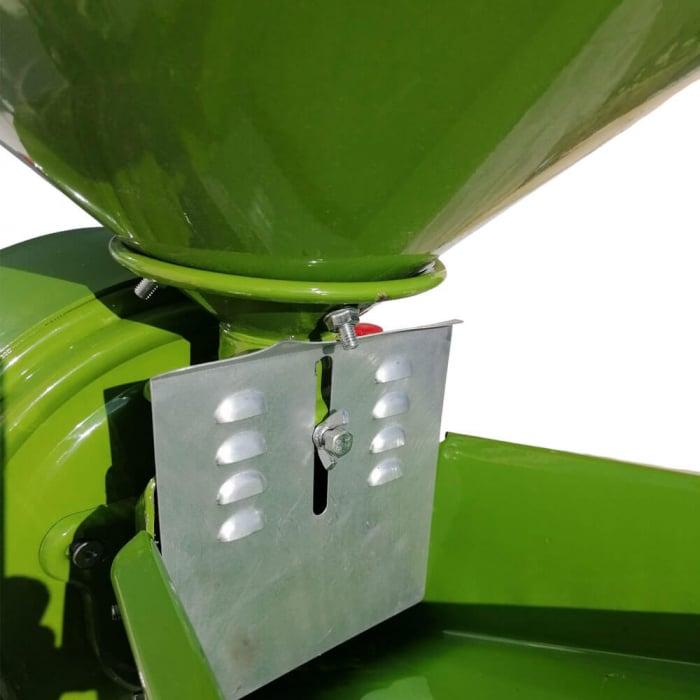 Moara cu ciocanele 2 in 1 pentru uruiala de cereale, Fermax, 2.2 Kw, 2800 rpm, 240 Kg/h, cuva mare [4]