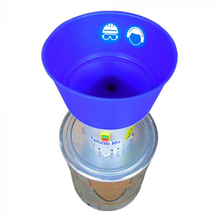 Moara electrica pentru cereale HOLZ MILL-50L INOX 3
