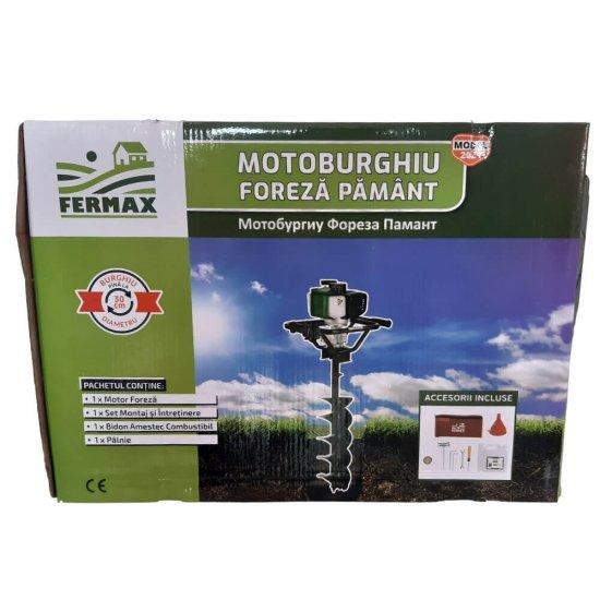 Motor Motoburghiu Foreza Fermax , 4 CP, 200 rpm 4