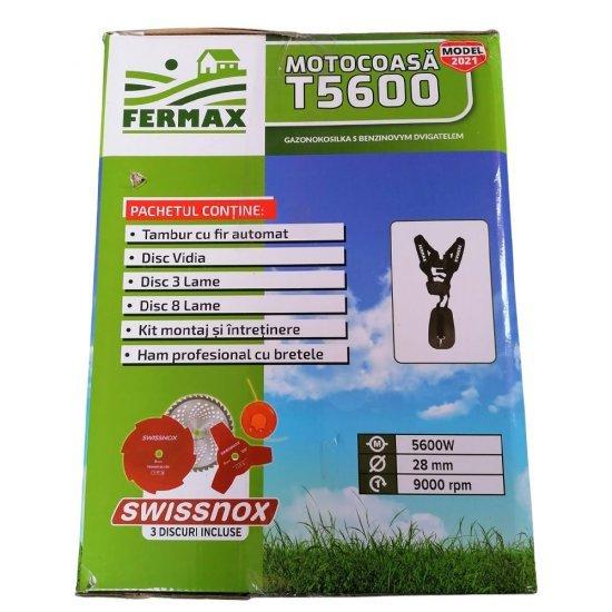 Motocositoare Fermax T5600, motor 4 timpi, 7CP, accesorii incluse 13
