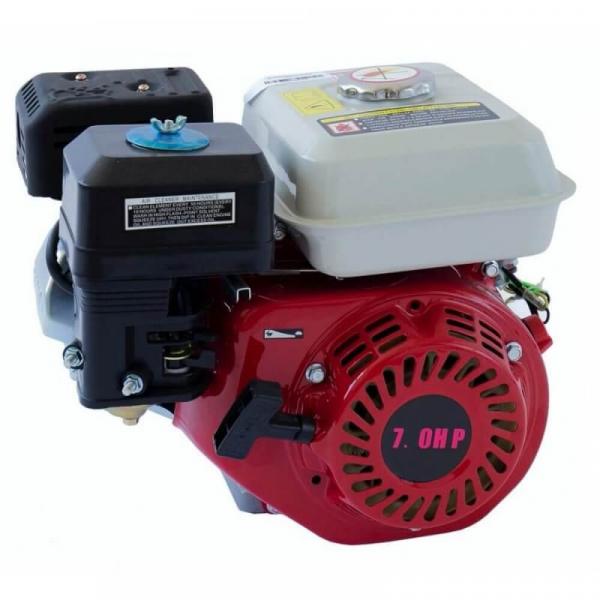 Motor benzina uz general ALPIN PROFI , GX200 ( 170F ) 7CP in 4 timpi OHV, ax cilindric 20mm, compatibil Motosape, Motocultoare, Generatoare, Motopompe 0