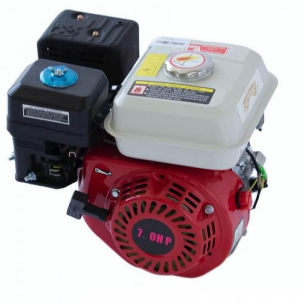 Motor benzina uz general ALPIN PROFI , GX200 ( 170F ) 7CP in 4 timpi OHV, ax cilindric 20mm, compatibil Motosape, Motocultoare, Generatoare, Motopompe 3