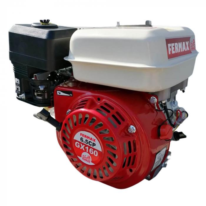 Motor benzina uz general, FERMAX, GX160, 6.5CP, ax cilindric 20mm [0]