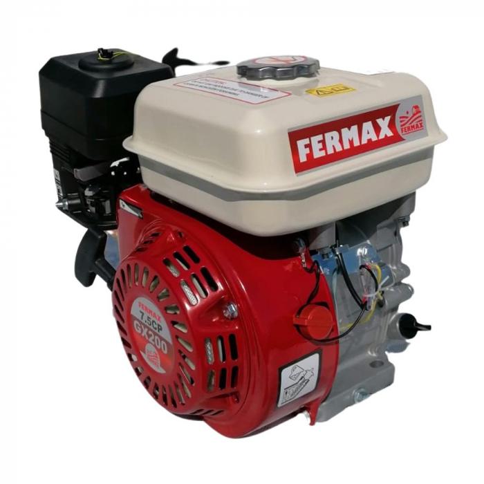 Motor benzina uz general, FERMAX, GX200, 7CP, ax cilindric 20mm [0]
