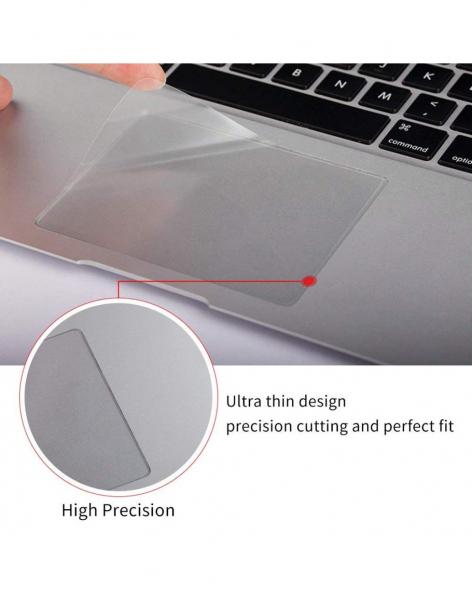 Pachet folie protectie ecran anti-glare si folie clara trackpad pentru Macbook Pro 15.4/Touch Bar 4