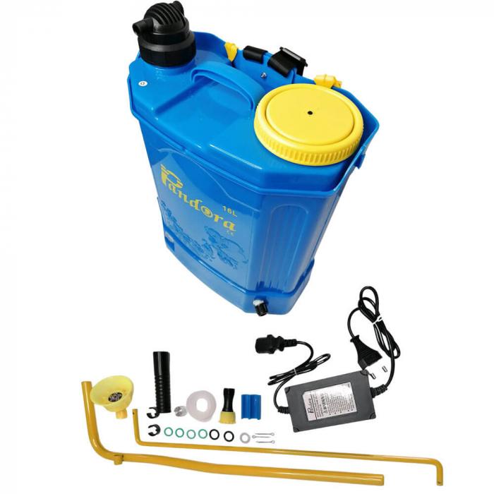 Pompa de stropit 2 in 1 (baterie + manuala) ,16L, Pandora [1]