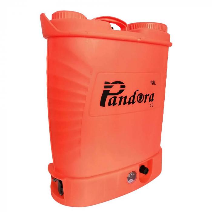 Pompa electrica pentru stropit cu acumulator, 18 litri, Pandora [0]