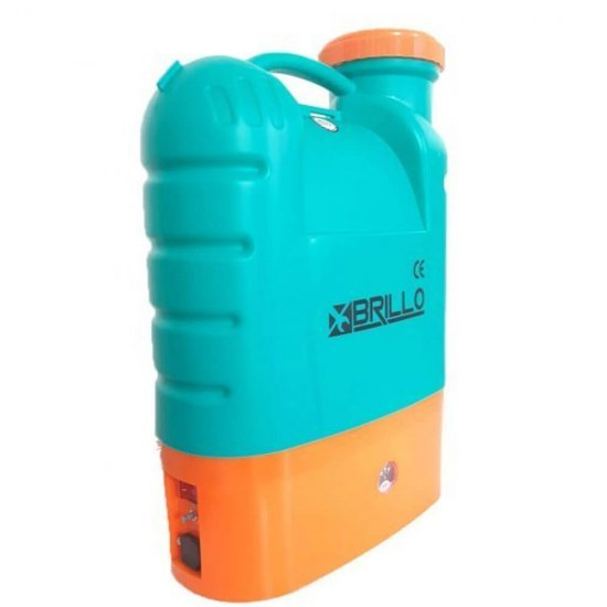 Pompa stropit gradina electrica Brillo, 16 litri, acumulator, 5.5 bar + Atomizor electric portabil Pandora 1