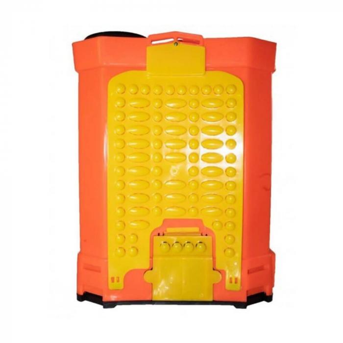 Pompa stropit gradina electrica Elefant, 12 litri, acumulator, 5.5 bar, regulator, lance 85 cm, 3 duze + Atomizor electric portabil Pandora 5