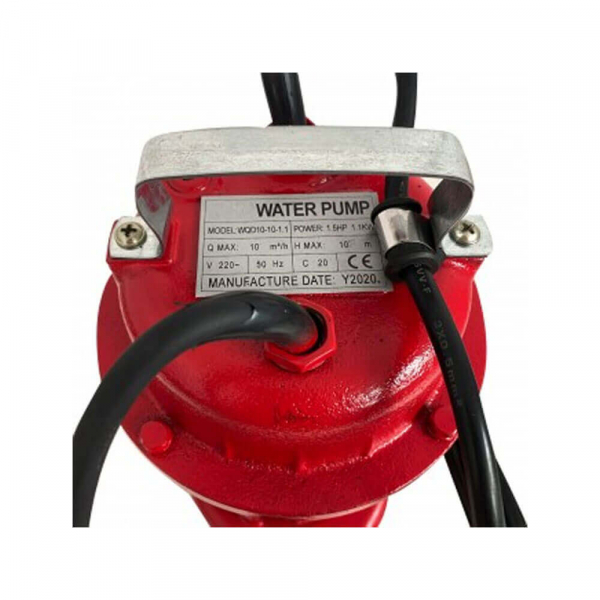 Pompa submersibila pentru apa murdata WQD10 cu flotor , 1.1 kW, 10 m3/h 2 toli [1]