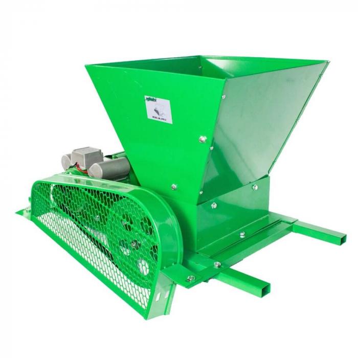 Zdrobitor / tocator electric de fructe si legume, 300 - 500 Kg/Ora, Cuva 35 Litri Detasabila, Fermax, Model 2021 [0]