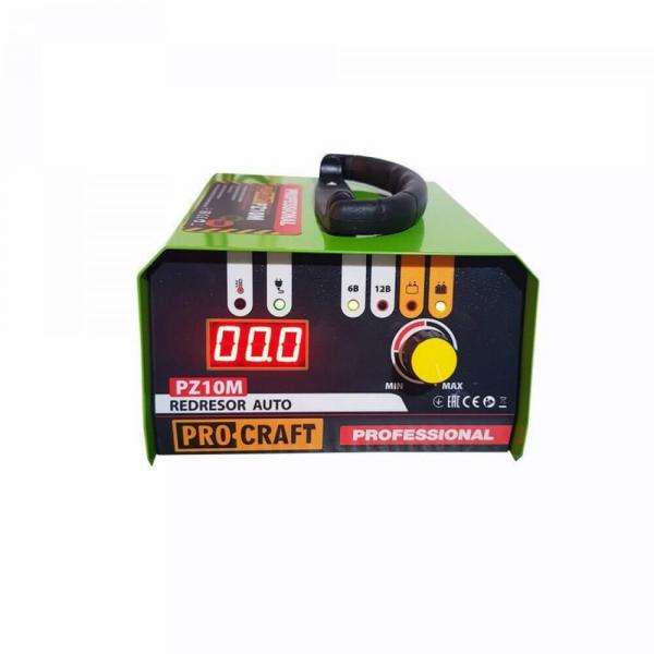 Redresor auto Profesional 6-12 V, PROCRAFT PZ10M, curent de incarcare 10 A, 165 W [0]