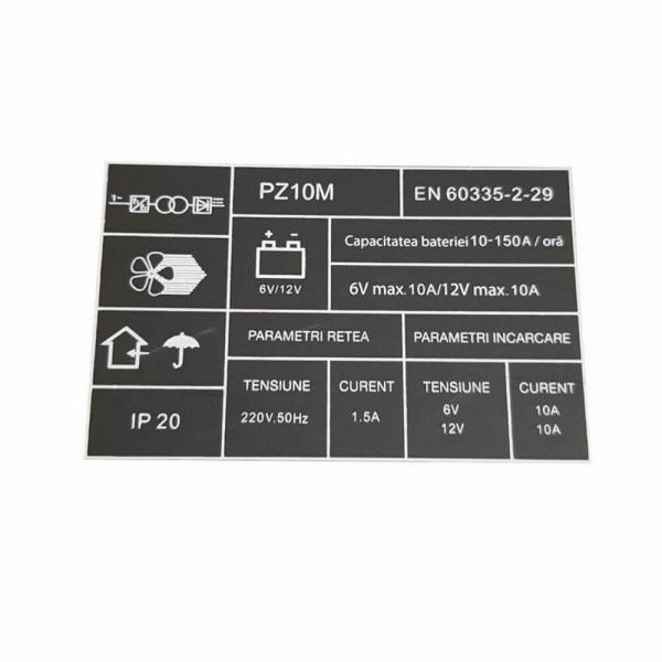 Redresor auto Profesional 6-12 V, PROCRAFT PZ10M, curent de incarcare 10 A, 165 W [3]