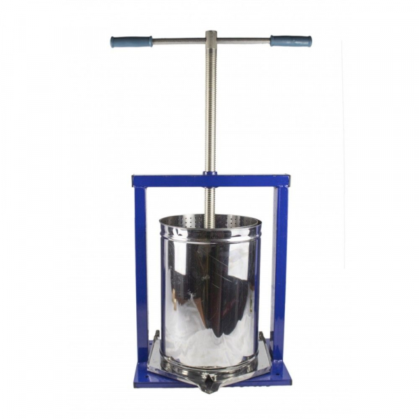 Teasc pentru struguri, din inox, manual, mecanic, Vilen, 10 litri 8