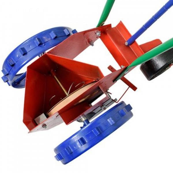Semanatoare manuala bulbi pe un rand, sistem disc cu gauri 1