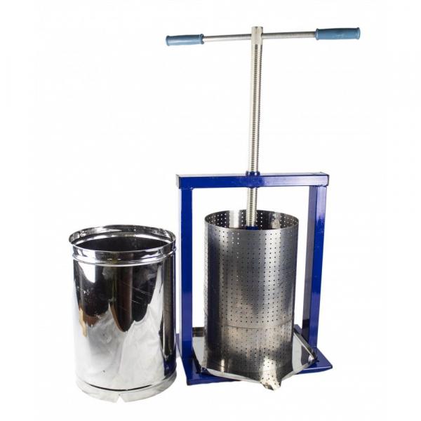 Teasc pentru struguri, din inox, manual, mecanic, Vilen, 15 litri 9