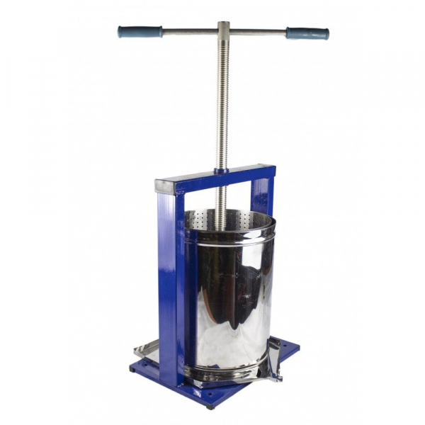 Teasc pentru struguri, din inox, manual, mecanic, Vilen, 15 litri 11