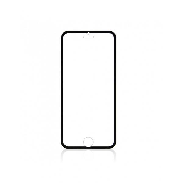 Sticla securizata 0.3mm protectie ecran cu rama pentru iPhone 6s / 6 4.7 inch, neagra 1