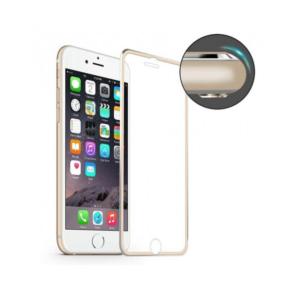 Sticla securizata HAT PRINCE cu rama de aluminiu pentru iPhone 7 4.7 inch 0