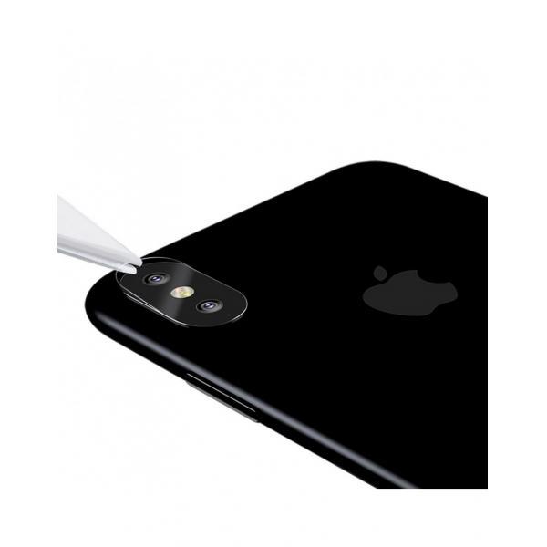 Sticla securizata protectie camera pentru iPhone X 5.8 inch 1