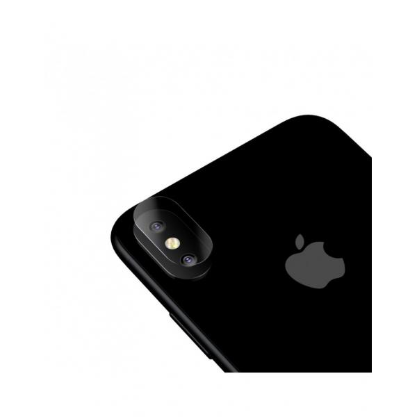 Sticla securizata protectie camera pentru iPhone X 5.8 inch 0