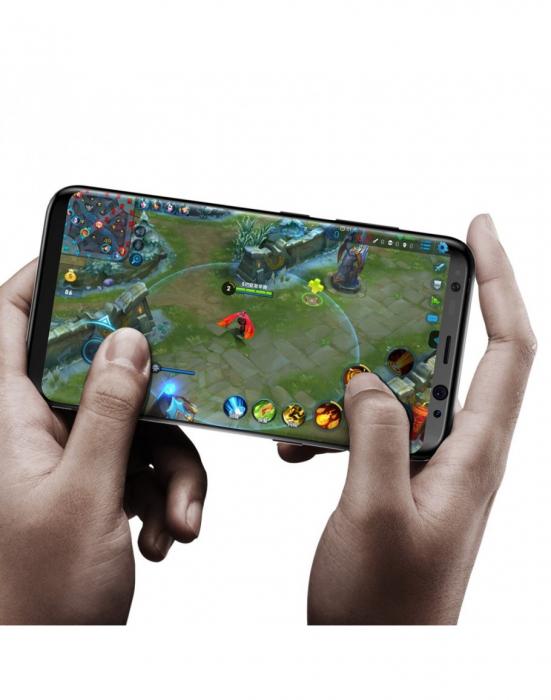 Sticla securizata protectie ecran pentru Samsung Galaxy S8 4