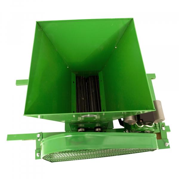 Zdrobitor de struguri electric, 240 - 500 Kg/Ora, Cuva 20 Litri Detasabila, Alpin Profi, Model 2019 2