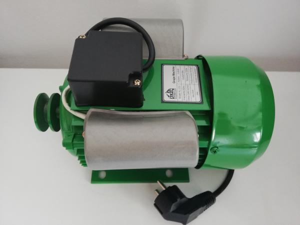 Zdrobitor de struguri electric, 240 - 500 Kg/Ora, Cuva 20 Litri Detasabila, Alpin Profi, Model 2019 8