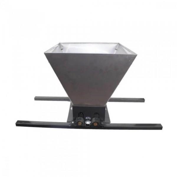 Zdrobitor manual de struguri, 300-350Kg/Ora, Cuva 35 Litri Detasabila din inox,ELEFANT HGP-50S 3