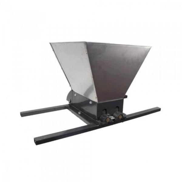 Zdrobitor manual de struguri, 300-350Kg/Ora, Cuva 35 Litri Detasabila din inox,ELEFANT HGP-50S 0