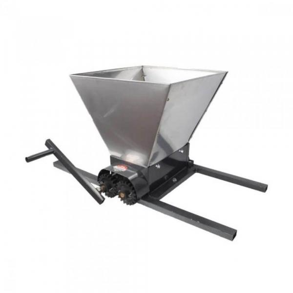 Zdrobitor manual de struguri, 300-350Kg/Ora, Cuva 35 Litri Detasabila din inox,ELEFANT HGP-50S 2