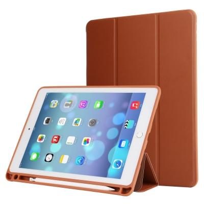 Husa protectie din piele ecologica pentru iPad Pro 10.5 (2017), maro0